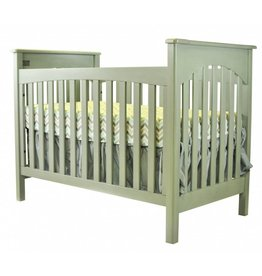 Braxton 2 In 1 Crib   Vintage Grey