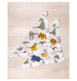 Little Unicorn Cotton Muslin Security Blankets - 2 pack - Dino Friends