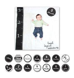 Lulujo Baby's First Year Blanket/Cards - Loved Beyond Measure