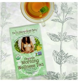 Earth Mama Angel Baby Organics Organic Morning Wellness Tea Box