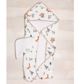 Little Unicorn Cotton Hooded Towel & Wash Cloth - Forest Friends