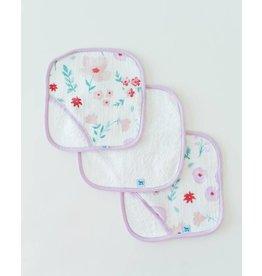 Little Unicorn Cotton Wash Cloth 3 Pack Morning Glory