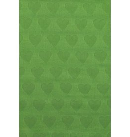 Tula Blanket - Green Rainbow Hearts Oliver Tula