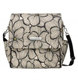 Petunia Pickle Bottom Boxy Backpack - Bouquets in Bordeaux