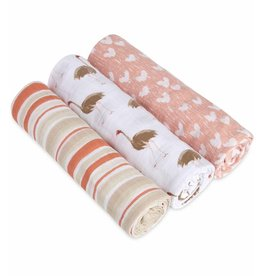 aden + anais Flock Together 3-Pack Classic Swaddles