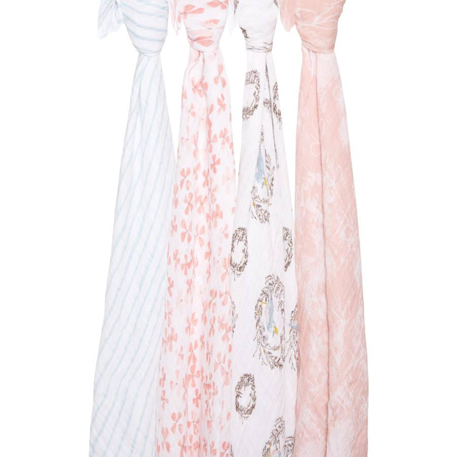 aden + anais Birdsong 4-Pack Classic Swaddles