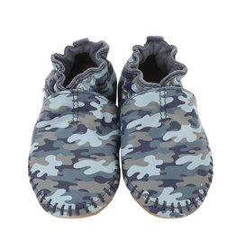 Robeez Premium Leather Moccasins Classic Moccasin Camo