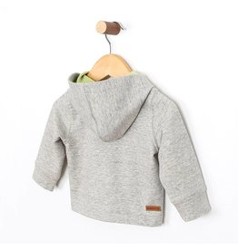 Robeez French Terry Knit Hooded Jacket Brown