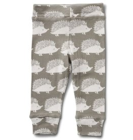 Milkbarn Kids Organic Legging - Grey Hedgehog