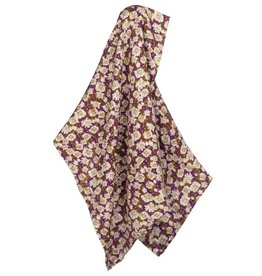 Milkbarn Kids Bamboo Swaddle - Purple Floral