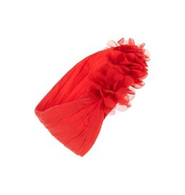Baby Bling Bows Chiffon Ruffle (Red)