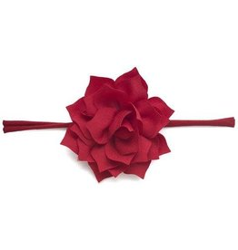 Baby Bling Bows Poinsettia (Red)