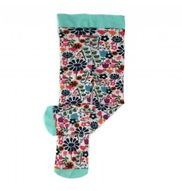 Baby Bling Bows Printed Tights (Scandinavian Hippie)