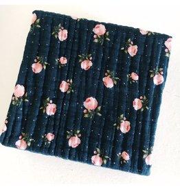 Little Unicorn Cotton Muslin Quilt - Midnight Rose