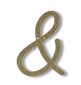 Meri Meri Gold Glitter & Acrylic Bunting