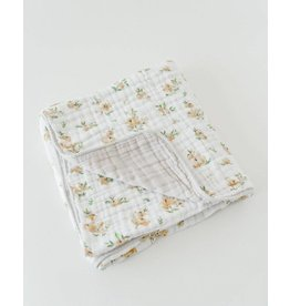 Little Unicorn Cotton Muslin Quilt - Yellow Rose