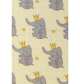Tula Blanket - Elephant Prince - Print Only