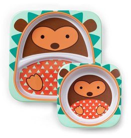Skip Hop ZOO tableware - Hedgehog Set