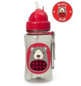 Skip Hop Winter Zoo Straw Bottle - Bear