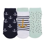 Robeez 3pk Anchors Aweigh Socks