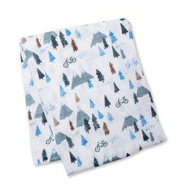 Lulujo LLJ Cotton Muslin Blanket - Mountain Top