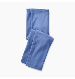 Tea Collection Solid Capri Leggings - Blue Yarrow
