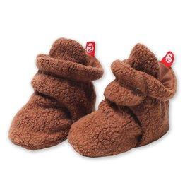 Zutano Cozie Fleece Bootie - Chocolate