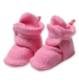 Zutano Cozie Fleece Bootie - Hot Pink
