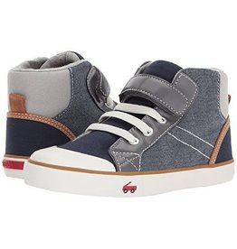See Kai Run Dane (Little Kid) Shoes Chambray Multi