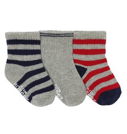 Robeez Baby Sock Daily Dave 3-Pack