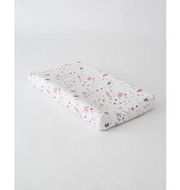 Little Unicorn Cotton Muslin Changing Pad Cover - Fairy Garden
