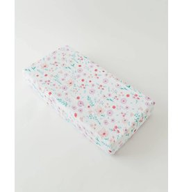 Little Unicorn Cotton Muslin Changing Pad Cover - Morning Glory