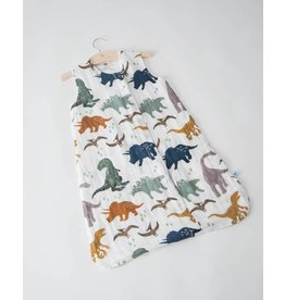 Little Unicorn Cotton Muslin Sleep Bag Small - Dino Friends