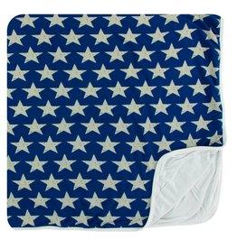 Kickee Pants Kickee Pants Swaddling Blanket: Vintage Stars