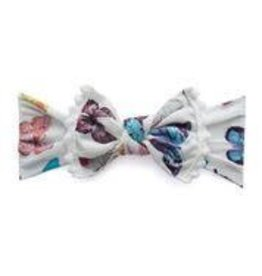 Baby Bling Bows Trimmed Printed Knot (Butterfly Chart)