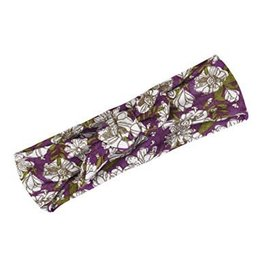 Milkbarn Kids Bamboo Headband - Purple Floral