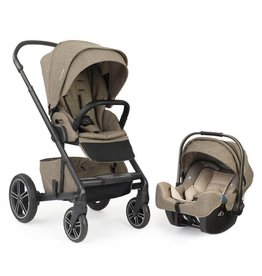 Nuna MIXX2 Travel System Latte