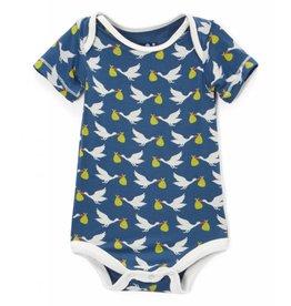 Kickee Pants Print Short Sleeve One Piece - Twilight Stork Newborn