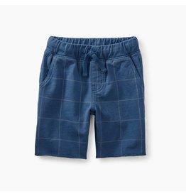 Tea Collection Cruiser Baby Shorts - Cobalt Windowpane