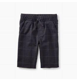 Tea Collection Print Cruiser Shorts - Phantom Window Pane