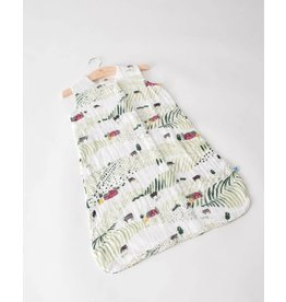 Little Unicorn Cotton Muslin Sleep Bag Medium - Rolling Hills
