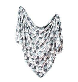 Copper Pearl Knit Blanket - Urban