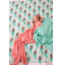 Tula Blanket 3 - Meowmaid - Print