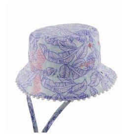 Millymook and Dozer Girls Bucket Hat - Tropics Blue
