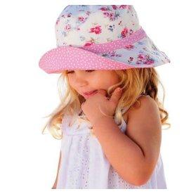 Millymook and Dozer Girls Floppy Hat - Vintage Floral