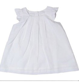 Beba Bean Linen White Dress