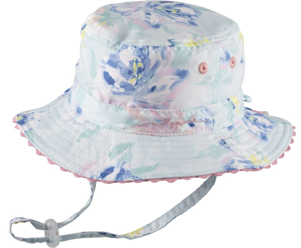 Millymook and Dozer Baby Girls Bucket Hat - Blush Mint - Kicks and ... af7ce7a8059