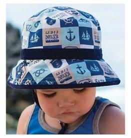 Millymook and Dozer Baby Boys Bucket Hat - Jaxson Navy S