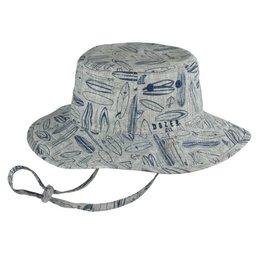 Millymook and Dozer Boys Floppy Hat - Waverly Navy S
