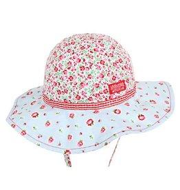 Millymook and Dozer Baby Girls Floppy Hat - Rosie Posie Floral